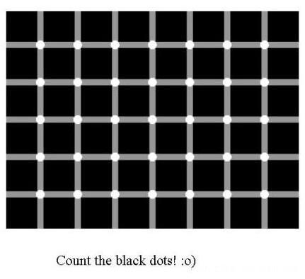 超强图片,谁数的清黑点有多少个我请他吃饭,哈哈。一个同学转发的 - widebright - widebright的个人空间