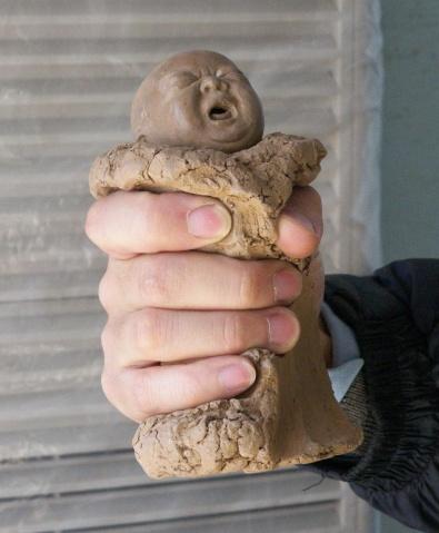 世界上最大的雕塑 - artist007 - 泼墨泥人