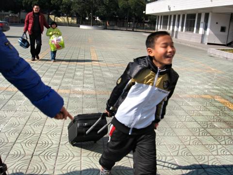 爱心家庭活动之四--告别 - 张老师 - 张老师的博客