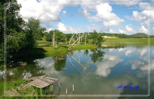 夏日童话公主湖【原】 - 自由诗 - 人文历史自然 诗词曲赋杂谈