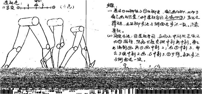 动画基础 第五章 人物走路的运动规律 闪电cg动画 闪电cg高清图片