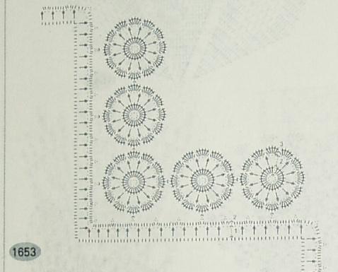 [钩针多图]台布、毯子与窗帘---带图解 - 听雨 - 听雨花园