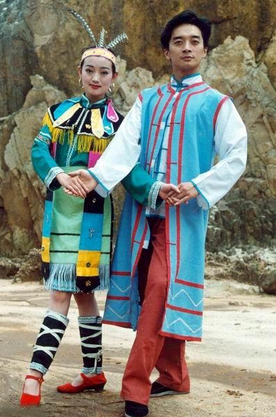 56个民族服饰