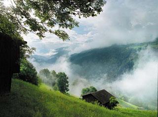 无与伦比的瑞士风光
