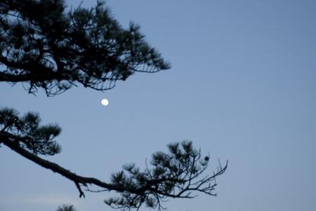 黄山北海观月出 - baijianone - baijianone的博客