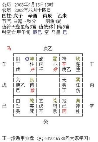 【转载】阴盘遁甲预测实解 - 鑫淼梦园 - 鑫淼梦园的博客