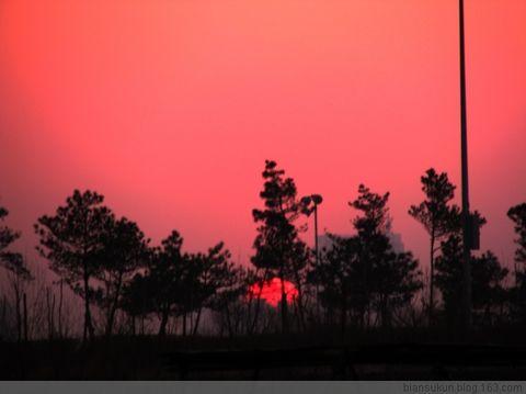 山间小溪[原创]好美的夕阳啊 - songzhumeiwenyuan - 松竹梅文苑