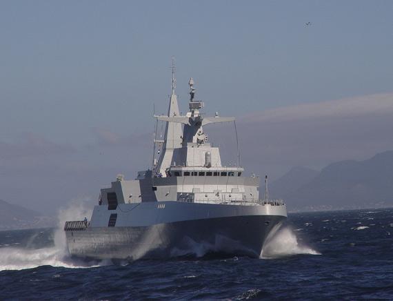 南非海军第四艘梅科A-200型护卫舰20日服役