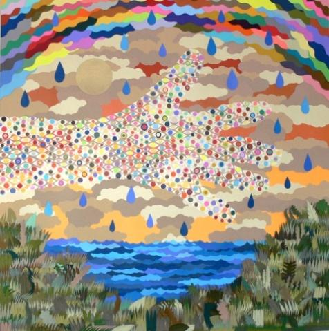 Michael velliquette 的彩纸艺术(转) - 苏儿 - 紫色心情