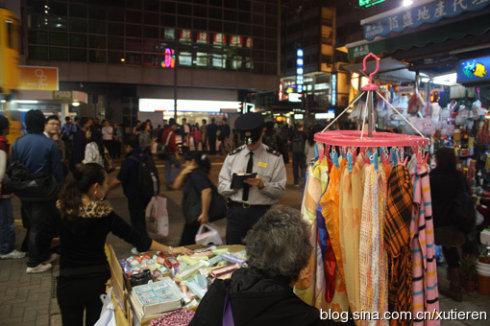 目击香港城管街头执法(图) - 徐铁人 - 徐铁人的博客