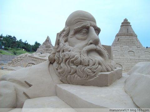 沙雕艺术及美山、美景、[照片] - 叶红 - 给自己一个理由,让自己活得更精彩
