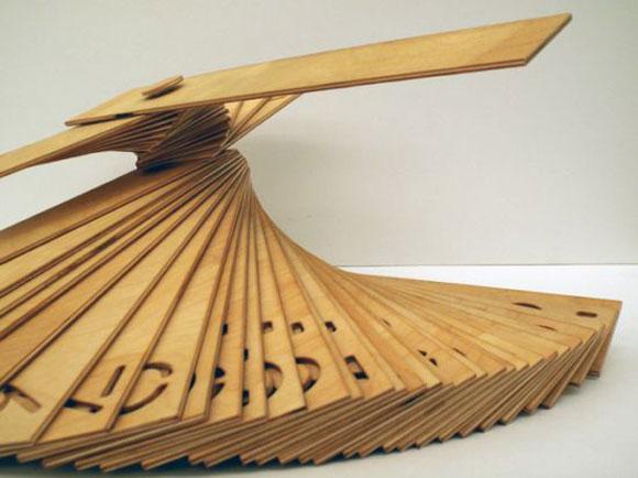 木制创意台历 - 何泛泛 - 何泛泛|IT独唱团