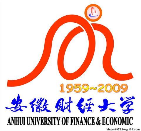 我为安徽财经大学校庆五十周年设计的徽标 - 大明朱 - 昙花一现