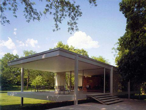 钢铁和玻璃建筑结构之父--密斯·凡·德·罗(Mies Van Der Rohe)--------------------------------------------------------------------------------------------------------------------------------------------------------------------------------- - 巩辰-桌子下面 -