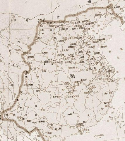 秦朝都城咸阳地图