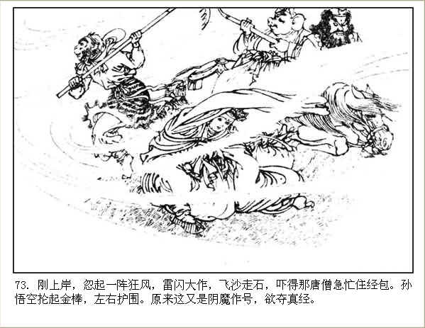 河北美版西游记连环画之三十六 【灵山参佛祖】 - 丁午 - 漫话西游