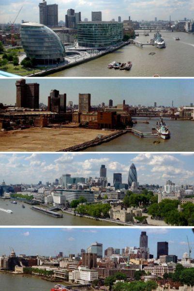 英国伦敦——上世纪70年代和2006年