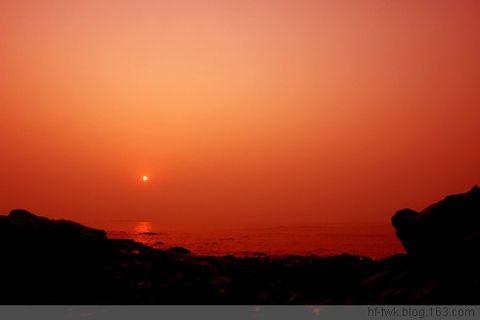 青岛日出 - hf-twk - 红帽子(王)的博客