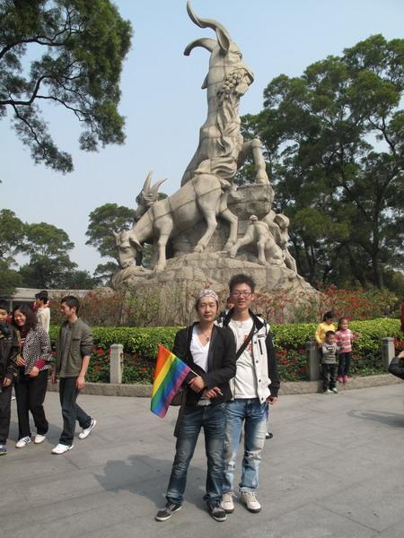 兔年初三亲友会组织同志游公园