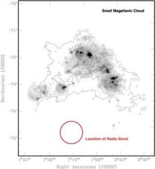 天文学家发现神秘无线电波 疑为奇异事件产生(图)
