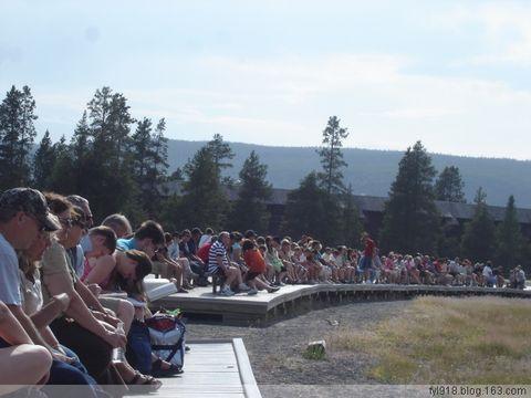[原创] 美国黄石公园风光欣赏(2):老忠实喷泉 - 阳光月光 - 阳光月光