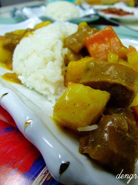 用高压锅做出口味纯正的咖喱土豆牛肉(附儿子迷恋的 - 可可西里 - 可可西里