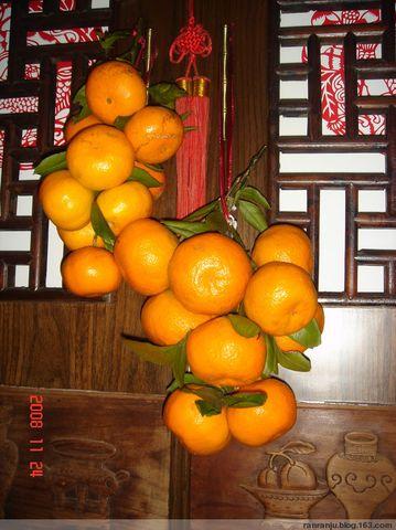 橘子红了(原创) - 木头格子 - 下营街三十八号