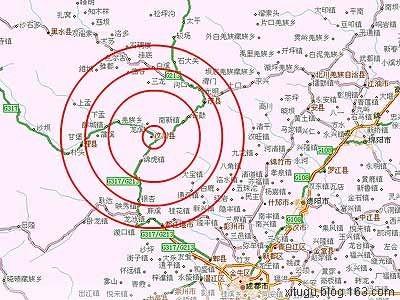 一张汶川县震前的照片 - 天王星 -           .