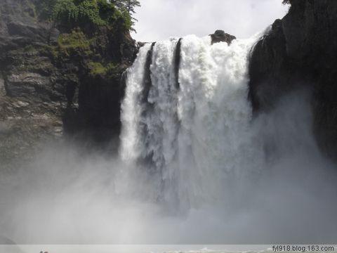 到西雅图观光(12): 赏心悦目的瀑布 - 阳光月光 - 阳光月光