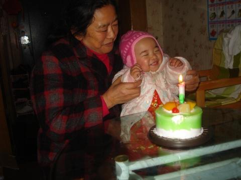 外婆生日快乐 - 童一 -  童一的世界 童一的梦想