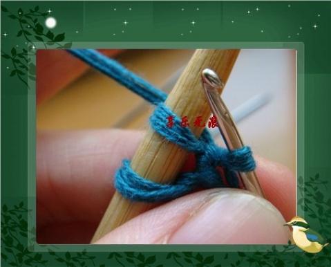 【转载】又一种新的起边方法 - 饿的神哪 - 饿的神哪的编织小屋