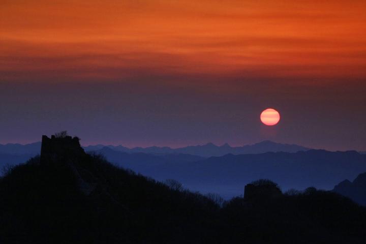 (原创摄影)箭扣长城日出 - 刘炜大老虎 - liuwei77997的博客