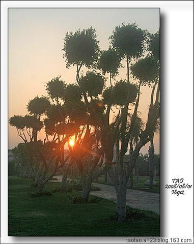 红海边欣赏日出(埃及旅游之二) - 山阴客 - 山阴客博客