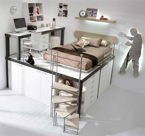 空间利用:太有创意了 - 快乐家园 - 快乐家园