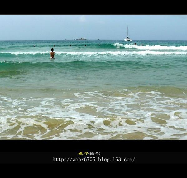 【原创图文】天下第一湾--亚龙湾风光 - 雄子 - 雄子言语