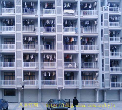 一座大学生宿舍楼