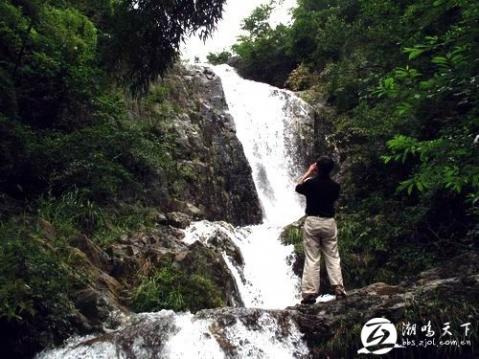 新昌的瀑布(一、罗坑山小将林场等瀑布) - 镜湖水 - 镜湖水的博客