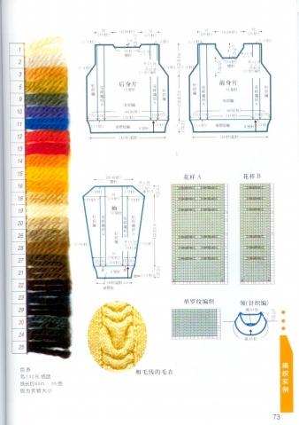【分享】棒针编织符号详解120例 - ︶ㄣZcc﹏ - ︶ㄣZcc﹏
