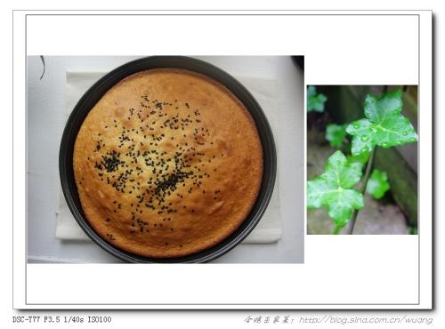 今晚巫家菜:美人黑芝麻蛋糕 - 巫昂 - 巫昂智慧所