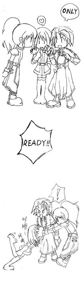 我们的魔力宝贝 - 小步 - 小步漫画日记