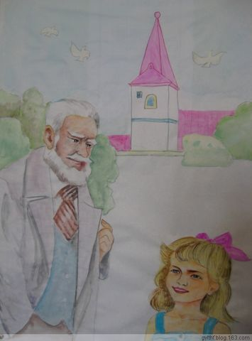 和小姑娘娜塔莎认识了,而且萧伯纳非常喜欢这个孩子,同她玩了