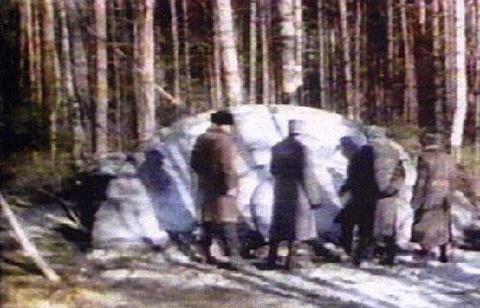 联绝密军事基地UFO谜案 空军击落飞碟 组图