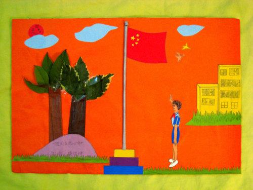 祖国在我心中手抄报 祖国在我心中幼儿 祖国在我心中小学画