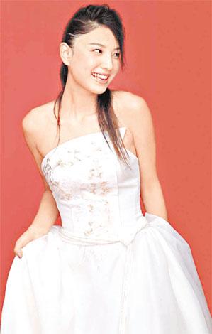 郑希怡婚纱图 - 水无痕 - 明星后花园