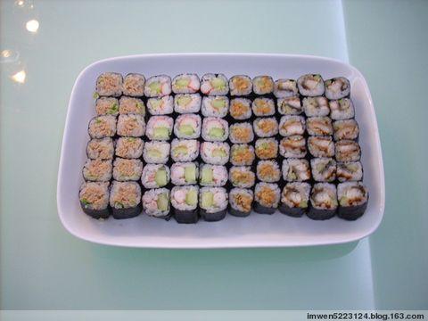 简单易做制作寿司