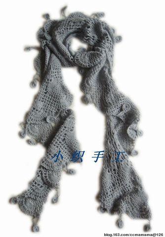 羊绒就算贵族了------围巾 - ccmamama - 寒潭雁影