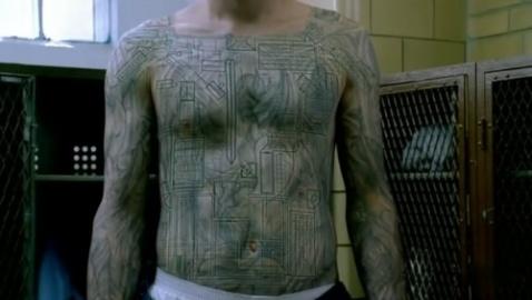 魔鬼天使纹身图案图片 天使与魔鬼的纹身图案,纹身天使与魔高清图片