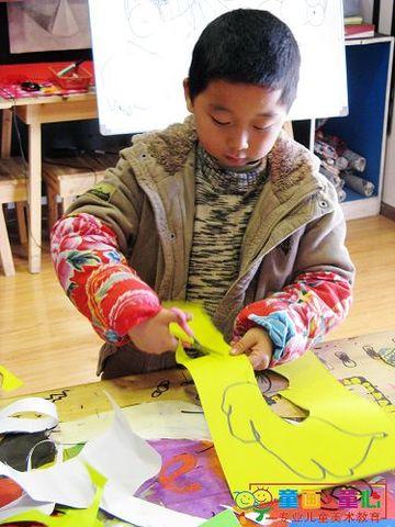 童画童心08秋季启蒙A美术活动12——我的金鱼缸 - 童画-童心儿童美术 - 童画-童心儿童美术