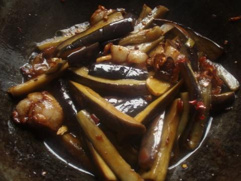 引用 枣园特色-肉片焖茄子 - 蓝馨月 - 蓝馨月的博客