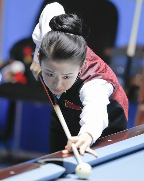 九球天后潘晓婷首夺亚运会冠军 - 古藤新枝 - 古藤的博客